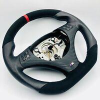 Échange Aplati Volant en Cuir BMW M-POWER E82 E84 E87 E88 E90 E91 E92 E93 Rouge