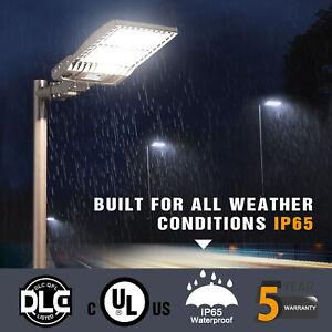 320W LED Street Pole Light Parking Lot / Shoebox Area Lighting, 100-277V,44800LM