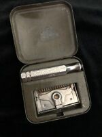 Antique Safety Razor with Case Made in USA