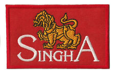 Patche écusson Singha Beer bière Bia Singh patch collection thermocollant