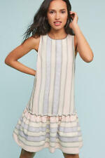NWT ANTHROPOLOGIE Devon Drop-Waist Dress By HD IN PARIS SMALL PETITE