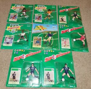 Lot 8 Kenner Forza Campioni Sportstars soccer action figures NEW