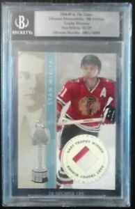 04/05 IN THE GAME STAN MIKITA TROPHY WINNERS #/25 BGS ITG