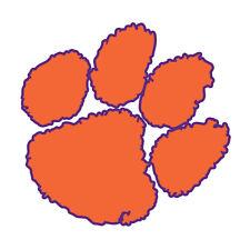 """Clemson Tigers NCAA Indoor - Outdoor - Car- Truck - Window 4"""" x 4""""  Free Ship"""