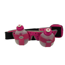 FuelBelt H2O-Helium 2 Bottle Hydration Belt pink/black med