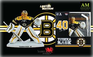 "Imports Dragon NHL Limited Edition Boston Bruins - Tuukka Rask 12 "" Figurine -"