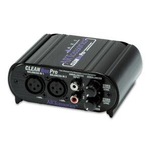 ART CleanBox Pro Dual Channel Balanced Line Level Converter