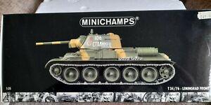 Minichamps WWII T34/76 Medium Tank Leningrad Front 1943 1:35 Scale Boxed