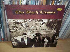 BLACK CROWES Southern Harmony.. 1992 DEF AMERICAN 1st Press LP with INNER