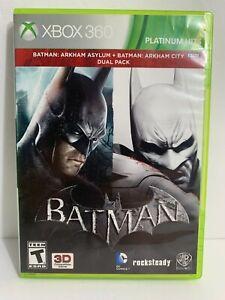 Batman: Arkham Asylum And Batman: Arkham City Dual Pack (Microsoft Xbox 360)