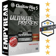 OFFICIAL Native Instruments Guitar Rig 5 Pro ULTIMATE PRESETS Patches SHIPS FREE