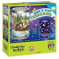 Creativity for Kids Grow And Glow Terrarium Educational Science Kit  Ages 6 & Up