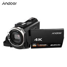4K 1080P 48MP WiFi Digital Video Camera IR Infrared 16X Zoom DV Camcorder HD