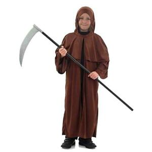 Children Kids Fancy Dress Medieval Monk Halloween Party Book Day Week Outfit