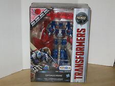 Transformers Premier Edition Voyager Optimus Prime Last Knight MISB Shield TRU