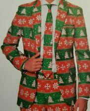 NWT SUITMEISTER CHRISTMAS TREE JACKET UGLY CHRISTMAS BLAZER MEN'S SZ M