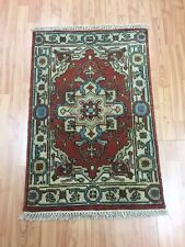 2' x 3' New Indian Serapi Oriental Rug - Hand Made - 100% Wool