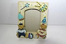 "Children's Teddy Bears ""Play Time"" Ceramic 3D Picture Frame"
