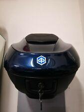 Bauletto Posteriore originale Piaggio 36lt Beverly 300/350 colore Blu