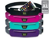Amphipod Airflow Microstretch Plus Belt, XL No-Bounce Waistpack-Pink