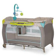 Hauck Baby Reisebett Babycenter Multi-Dots - Kinderreisebett mit Wickelauflage