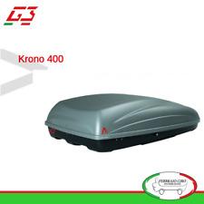 Box baule portatutto tetto Auto G3 Krono 400 lt