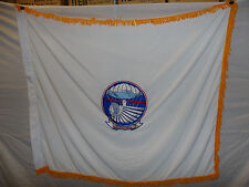 flag44 WW 2  501st Parachute Infantry  Regimental Flag Geronimo variation