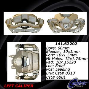 Frt Left Rebuilt Brake Caliper With Hardware Centric Parts 141.62202
