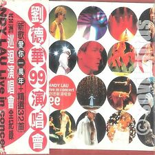Double CD 1999 Andy Lau Live in Concert 99 劉德華99演唱會 #3666