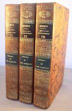 MEMOIRES DE LORD CLARENDON 3vol/4 / 1827 CHARLES II REVOLUTION ANGLETERRE GUIZOT