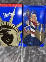 Mattel Barbie Doll 1995 American Beauties Collection Statue of Liberty MIB 14664