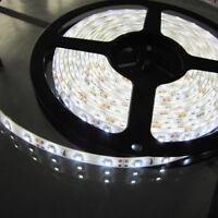 5M Pure White SMD 3528 300 LED Flexible Light Strips Tape Waterproof DC 12V Car
