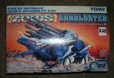 Zoids Rz-052 Gunbluster Ankylosaurus Type Action Figure New! by Tomy 2001 1/72