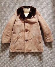 Mens Sheepskin Coat Size 42 Skinhead Mod Vintage