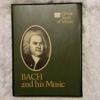 "Time Life Records ""Great Men of Music"" Classical Cassette Tapes BACH ~ Some New"