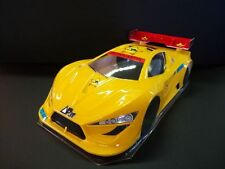 1/8 PZ 4.0 RC Car body Shell Speed Run 2mm GTP2E Serpent Traxxas Rally 0173/2