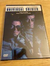 Universal Soldier Jean Claude Van Damme Dolph Lundgren Brand New DVD D4