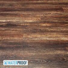 SAMPLE of Deep Leathery Brown Luxury Vinyl Plank LVP Flooring - Westminster