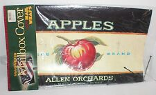 MAILBOX MAGNETIC DECORATIVE COVER WRAP ALL WEATHER CHOICE APPLES STANDARD SIZE
