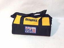 """New DeWalt 11"""" x 8,5"""" x 7,5"""" Contractors Tool Bag Heavy Duty Nylon"""
