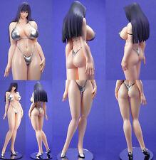 Saki busty Japanese girl in bikini sexy 1/5 unpainted statue model resin kit
