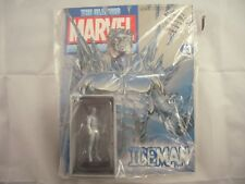 Eaglemoss Marvel FIGURINA RACCOLTA Iceman con MAGAZINE 33