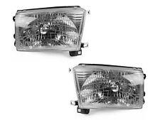 FLEETWOOD BOUNDER DIESEL 2001 2002 CHROME HEADLIGHTS HEAD LAMPS SET RV - PAIR