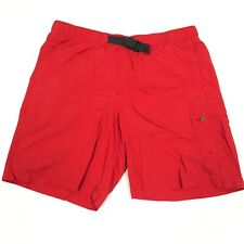 Columbia Mens Large Omni Shade Shorts Red V11