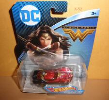 WONDER WOMAN MOVIE hot wheels TOY CAR gal gadot DC UNIVERSE justice league