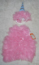 Pottery Barn Kids Baby Cotton Candy Halloween Costume 2PCS Pink Girls 12-24 MOS