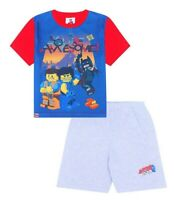 Official Lego Movie You're Awesome  Short Pyjamas  Pj Boy's Pjs