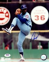Lee Smith autographed signed 8x10 photo MLB Chicago Cubs PSA COA