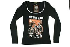 Biker Clothing Company Sturgis 2016 Officially Licensed Women's S Shirt