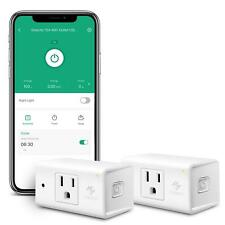 Etekcity WiFi Smart Plug Compact Energy Monitoring Outlet with Automatic Night L